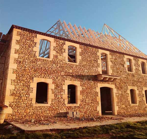 Charpente toit Corrèze